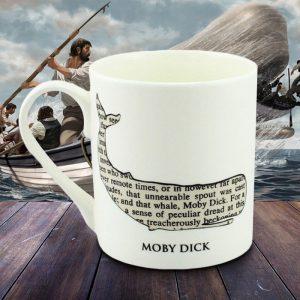 Moby Dick Mug - 70th Birthday Gift Ideas