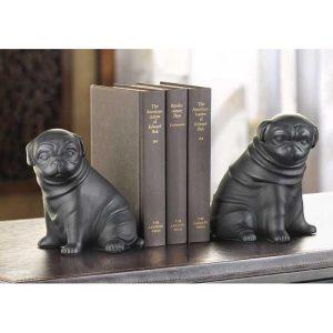 Pug Dog Bookends | Set of 2 - groomsmen gifts
