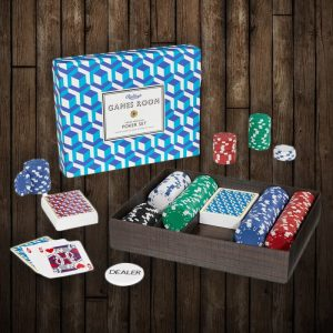 Ridley's Poker Set - groomsmen gifts