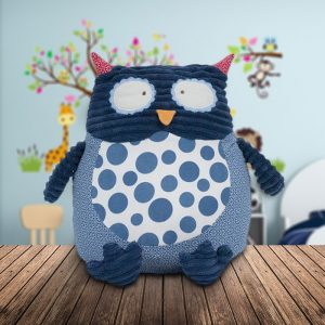 Fluffy Owl Cushion - Gifts For 1 Year Old