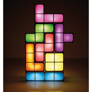 Tetris Inspired DIY Build Your Own Lamp - gift for gamers