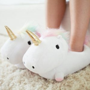 Enchanted Unicorn Light-Up Slippers - gifts for bridesmaids