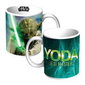 Star Wars Yoda Musical Coffee Mug - 80th Birthday Present Ideas