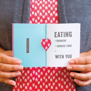 "The ""I Love"" Book - Gifts For Couples"