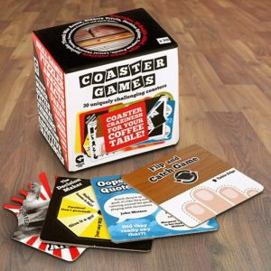 Coaster Games Pack - 70th Birthday Gift Ideas