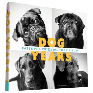 Dog Years, Faithful Friends, Then And Now Book - Gifts For Dog Lovers