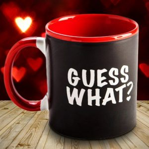 Guess What? I Love You - Heat Changing Mug - Gifts For Couples