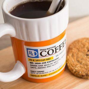 Prescription Coffee Mug - 70th Birthday Gift Ideas