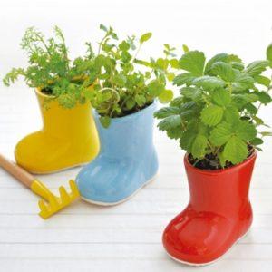 Rainy Day Garden Planter Boot - 70th Birthday Gift Ideas