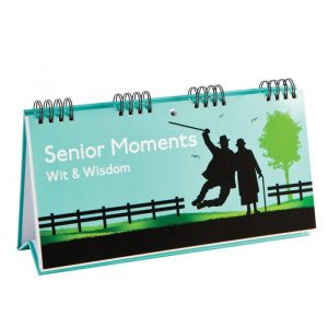 Senior Moments Wit & Wisdom Book | Books By Boxer - 70th Birthday Gift Ideas