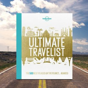 Lonely Planet Ultimate Travelist Book - Gifts For Travellers