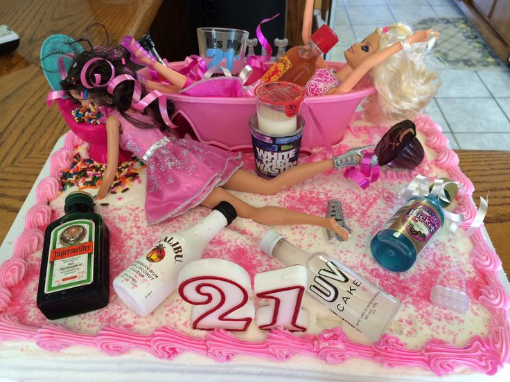 21st Birthday Cake Inspiration