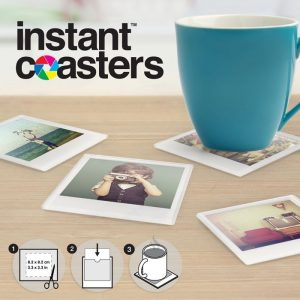 Customisable Glass Photo Coasters - Gifts For Sister