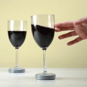 Mighty Wine Glass: Never Tips Over - 70th Birthday Gift Ideas