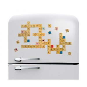 Scrabble Fridge Magnets - Gifts For 7 Year Old Boys
