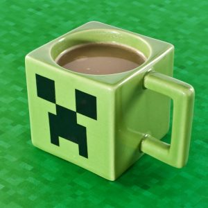 Minecraft Creeper Cube Mug - gift for gamers