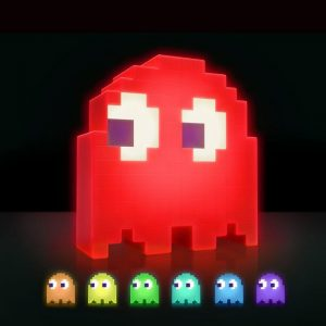 Pac-Man Colour Changing Ghost LED Lamp - gift for gamers