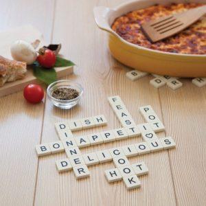 Letters Scrabble Silicone Trivet