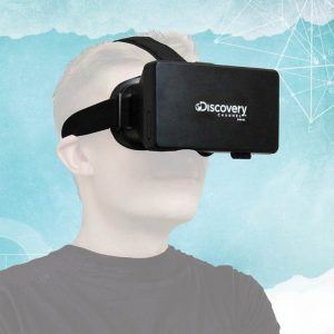Discovery Channel Virtual Reality Glasses for Smartphones - gift for gamers