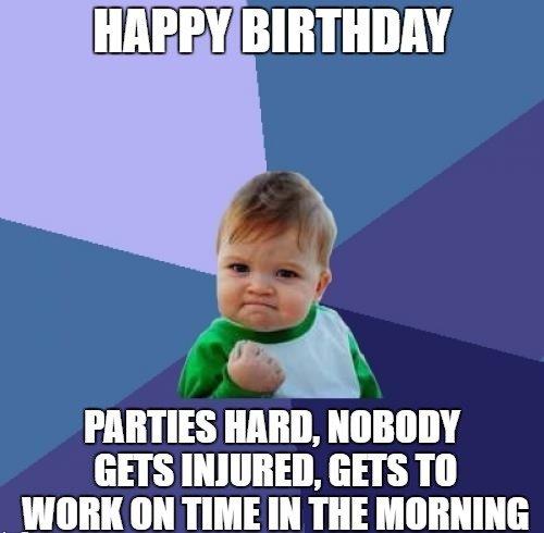 Birthday Party Meme