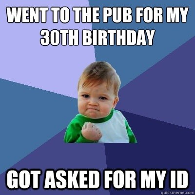 Birthday Party Meme
