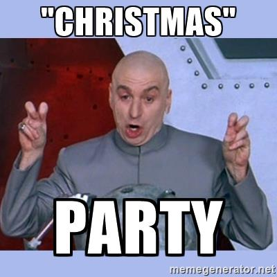 christmas party memes