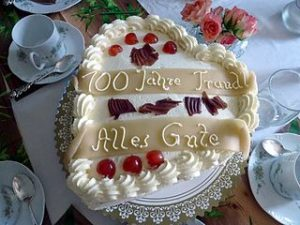 This Is The Oldest And Clearest Example We Have Of Candles Being Used On Birthday Cakes At A Party It Appears Germans Had Strongest