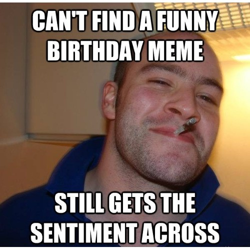 happy birthday meme