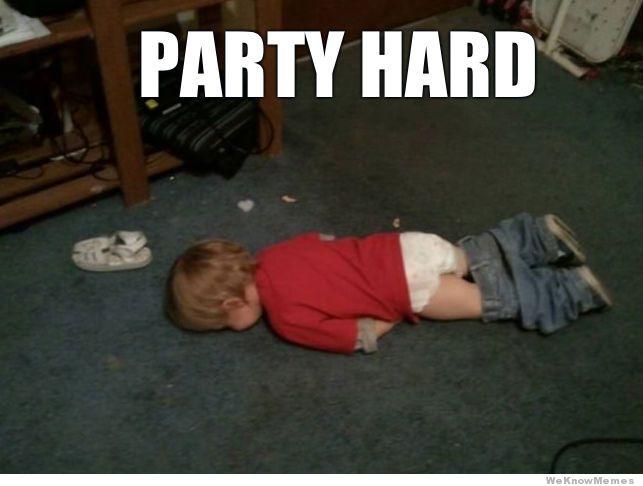 Party Hard Meme