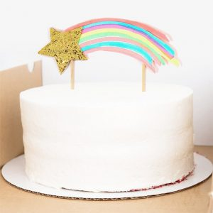 novelty birthday candles shooting star