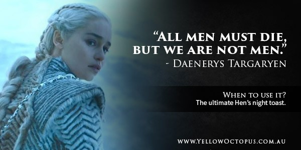 Game Of Thrones Quote Daenerys
