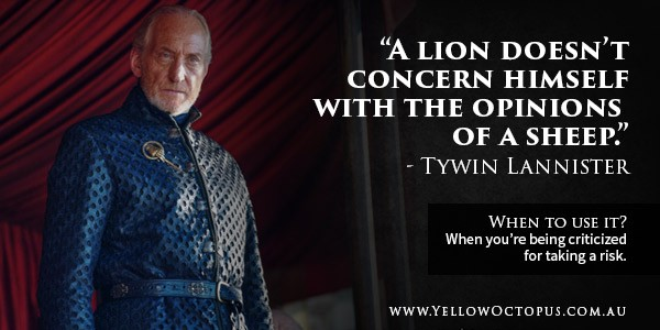Game Of Thrones Quote Tywin
