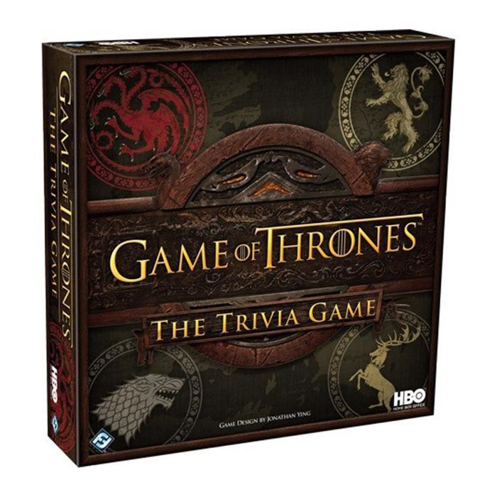 GAME OF THRONES STRATEGY TRIVIA BOARD GAME