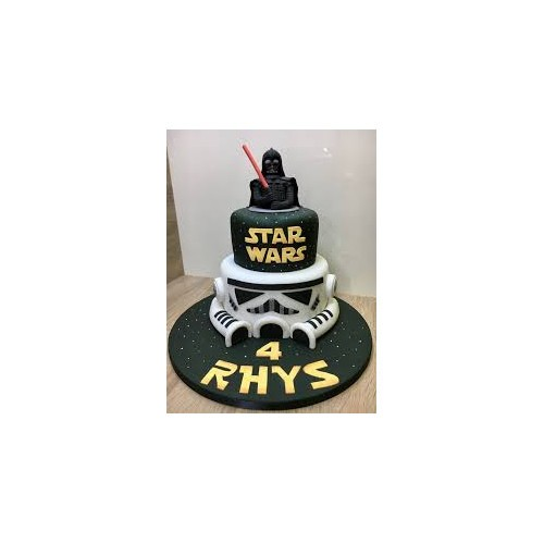 Star Wars birthday cake for kids