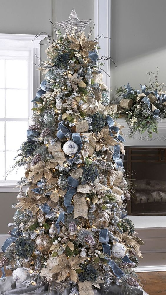 40 Inspirational Images Of Christmas Tree Decorations