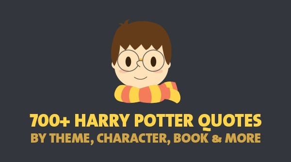harry potter quotes by theme character book more
